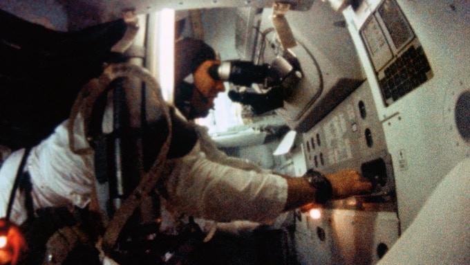 Jim Lovell as first star navigator on Apollo 8 to the Moon (NASA)