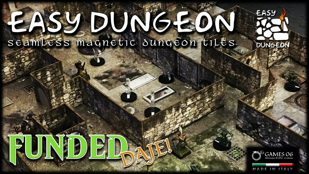Easy Dungeon - Seamless Magnetic Dungeon Tiles project video thumbnail