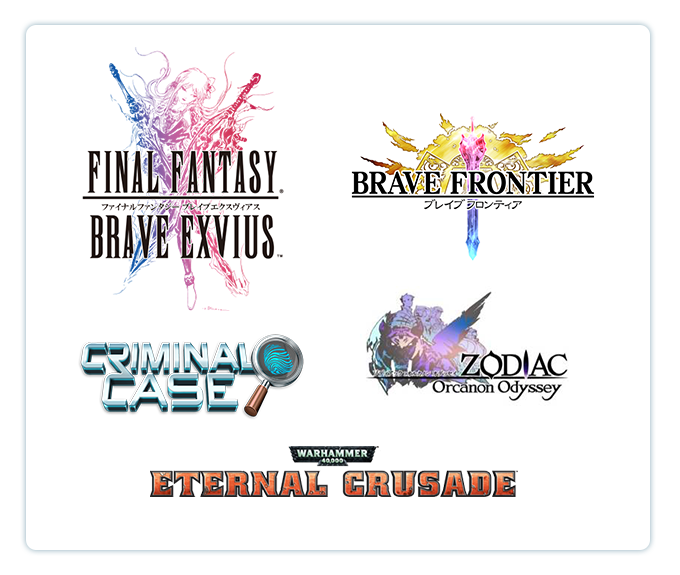 Some of the games the members of our team have worked on.