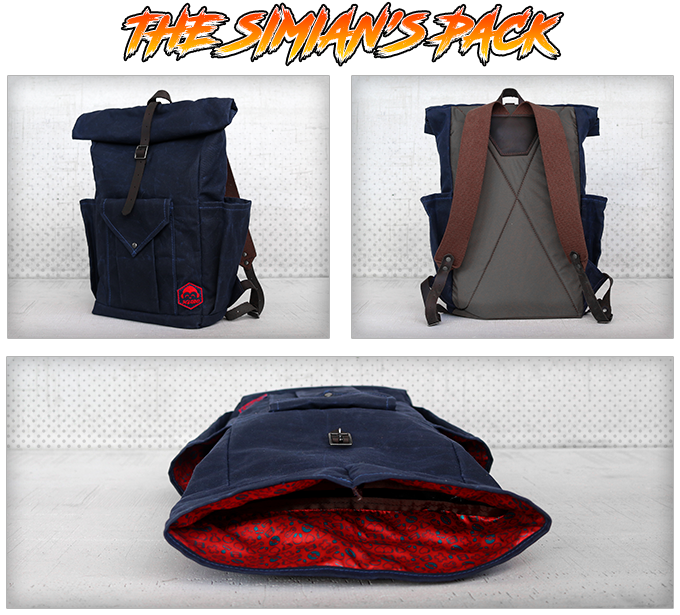 The Simians Pack: finding your destiny can be a taxing adventure so be sure to pack your dreams, passions, and a couple of friends to help you along the way.