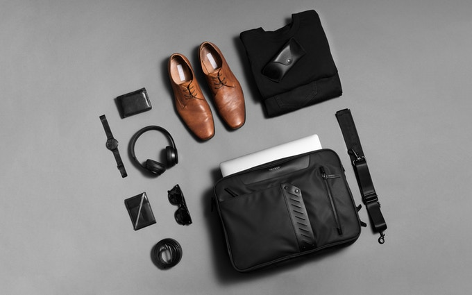 Flypack - A 48 Hours Business Travel Briefcase