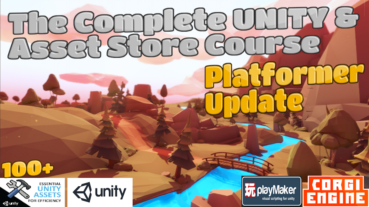 The Complete UNITY Developer Course: Platfomer Update by WeAreGames