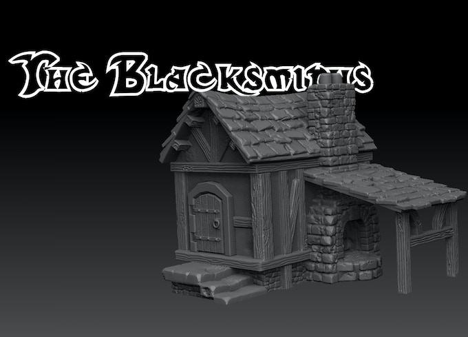 The Novice Pledge - Village Blacksmiths