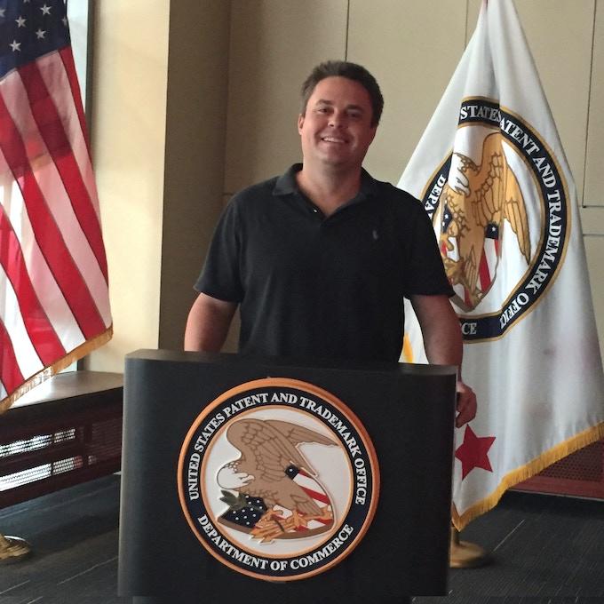 Jonathan Bannon Maher recently at the USPTO