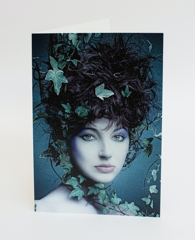 Kate Bush in Ivy (A5 Card)