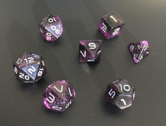 Purple Nebula full set