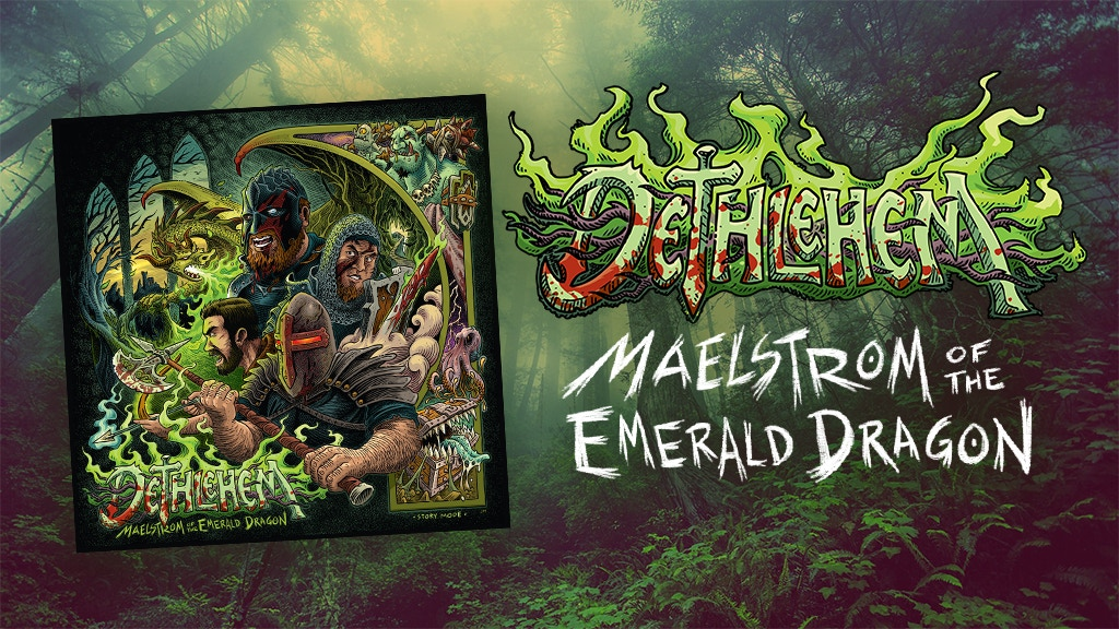 Dethlehem's 4th Album - Maelstrom of the Emerald Dragon project video thumbnail
