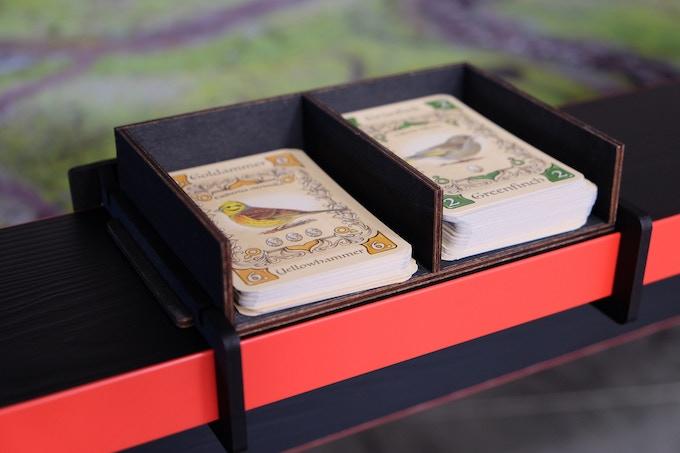 Kartenablage 2 Slots / Card depot 2 slots