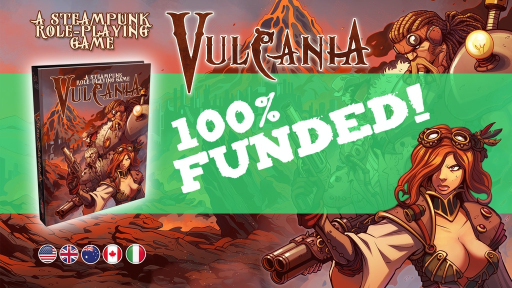 Vulcania Role-playing Game project video thumbnail