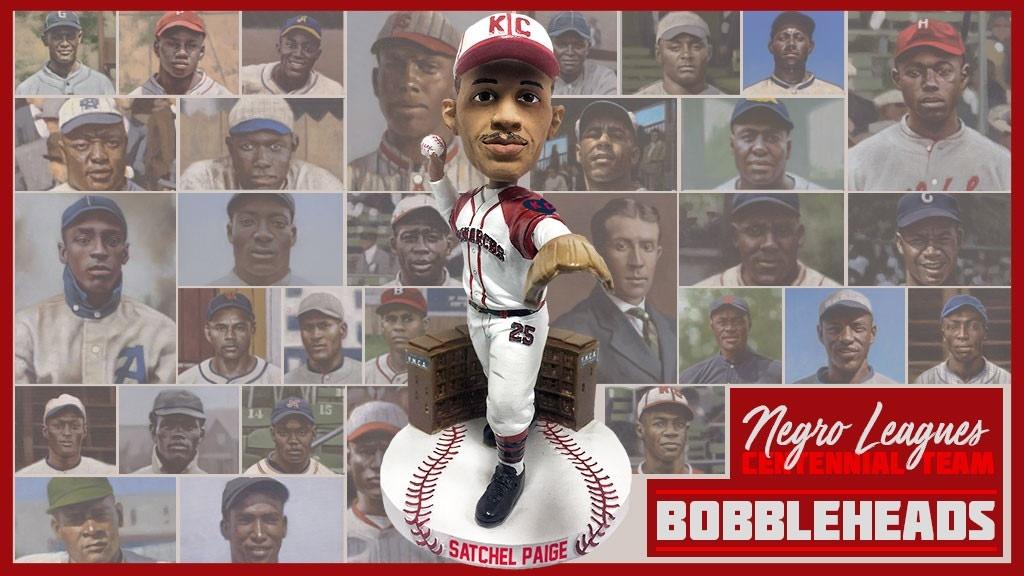 Negro Leagues Centennial Team Bobblehead Series