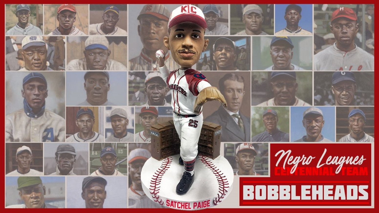 Celebrating the Negro Leagues and its players through bobbleheads that will educate and inspire generations to come.
