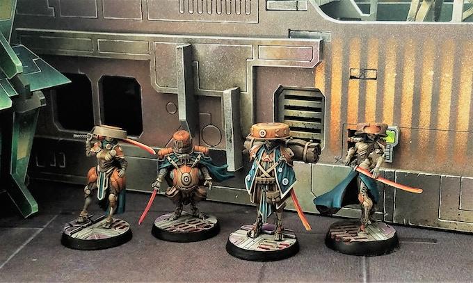 Seven unique faction archetypes