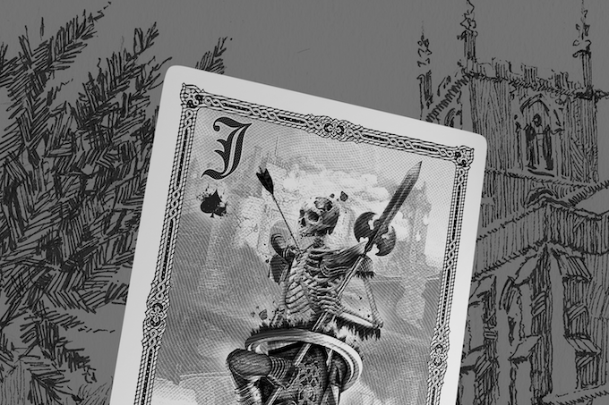 Jack of Spades on the side of Death
