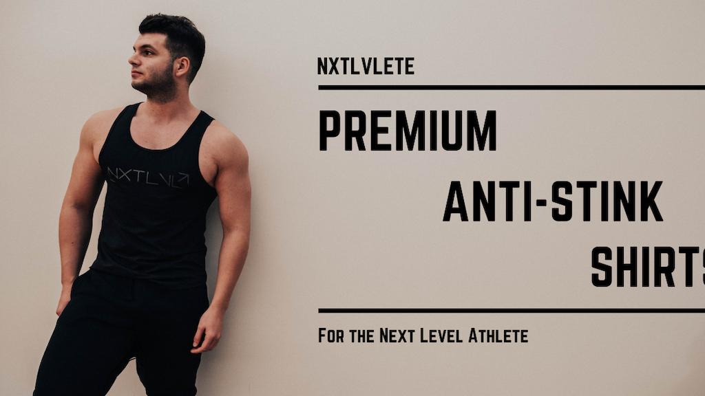 NXTLVLETE: Premium Anti-Stink Gym, Sports & Travel Shirts project video thumbnail