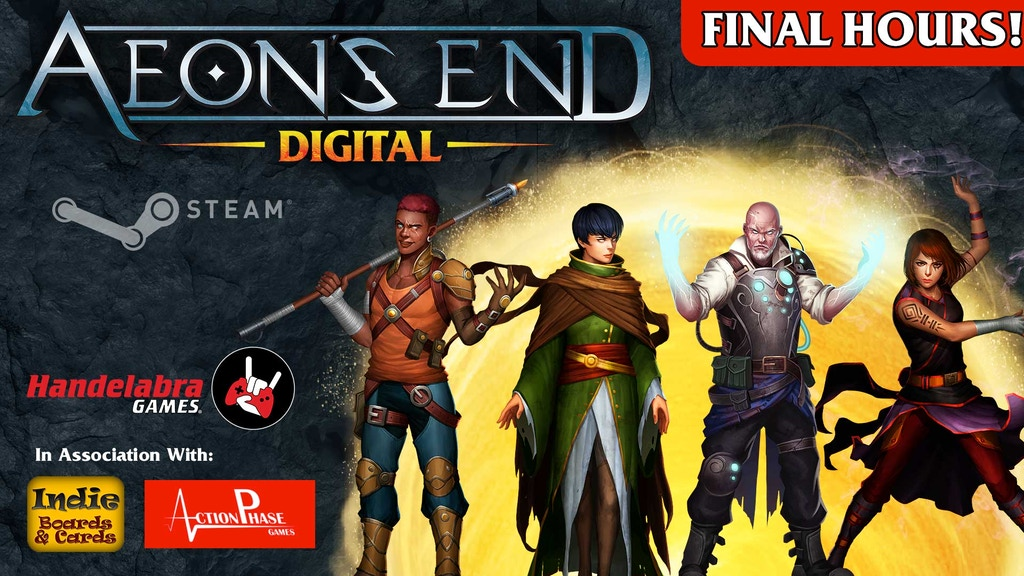 Aeon's End - Digital Tabletop Game project video thumbnail