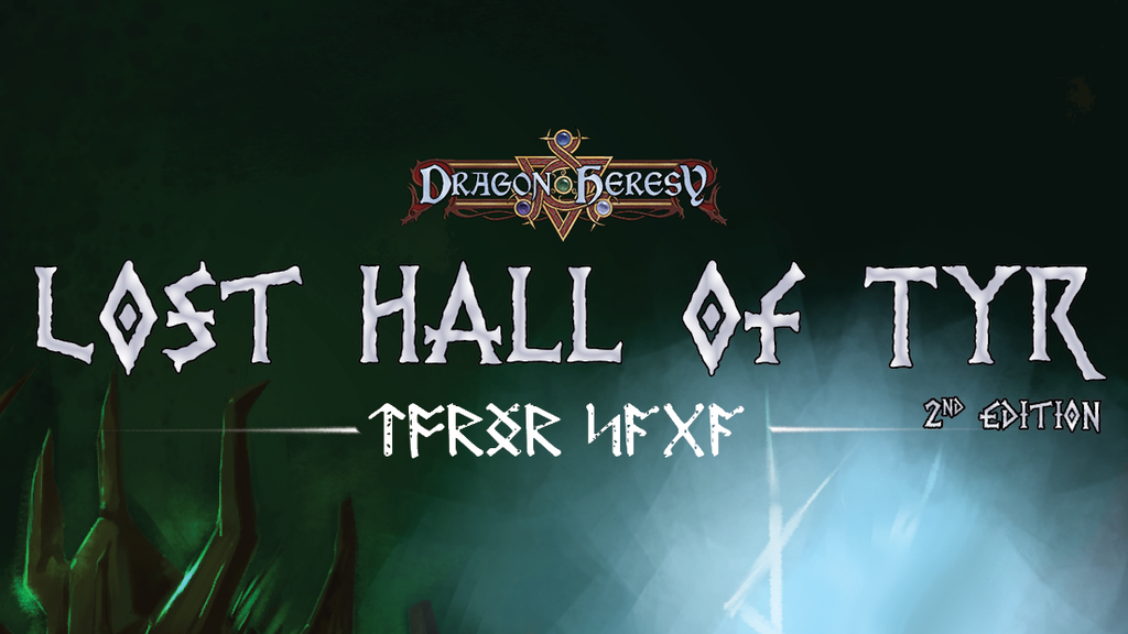 Lost Hall of Tyr (2nd Edition): Maps and Print Run project video thumbnail