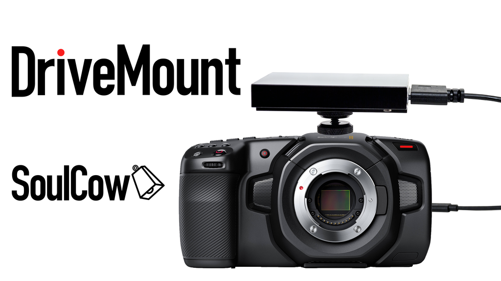 Project image for DriveMount: the camera to SSD solution