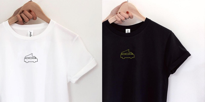 Hand embroidered Gianni's T-Shirts