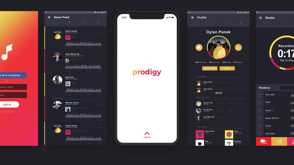 Prodigy: A revolutionary new social music platform is the top crowdfunding project launched today. Prodigy: A revolutionary new social music platform raised over $3845 from 35 backers. Other top projects include A BAZAAR ROAD TRIP, RUMSKI, ...