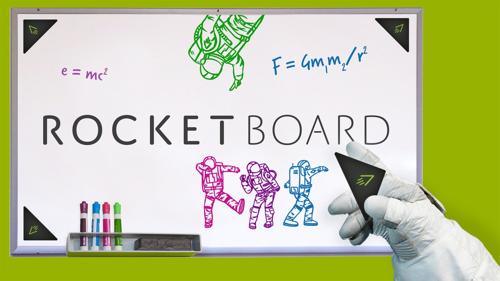 Rocketboard: A New Digital Universe For Old Whiteboards