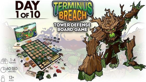 Terminus Breach board game