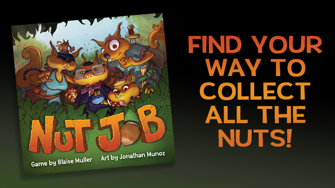 NUT JOB (msrp $12) - The Expansion: A Nuttier Job is available in the Pledge Manager