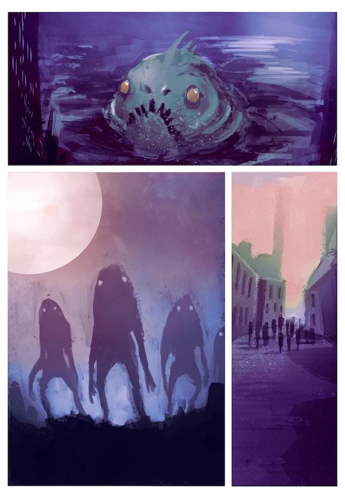 Ejemplo de las páginas del cómic/This is a sneak peek of the comic pages