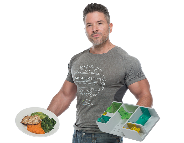 MealKitt creates portion sizes for all your major food groups. No more calorie counting or guess work.