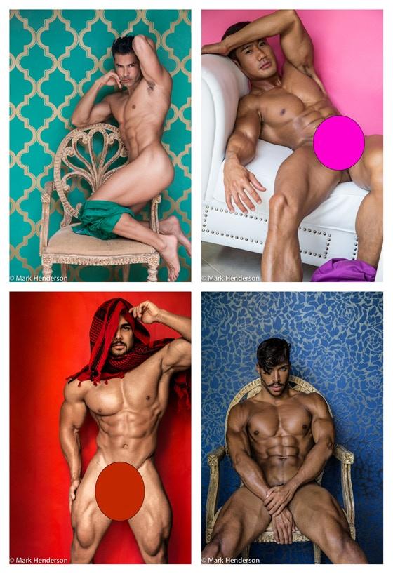 models: Dionisio Heiderscheid, Harold Anunciacion, Benji, and Artist Ledom