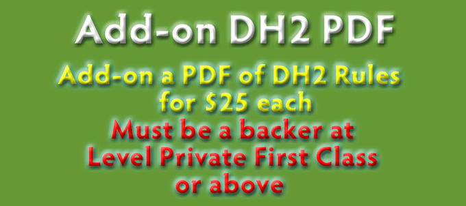 Add - On - Backer - DH2 Rules