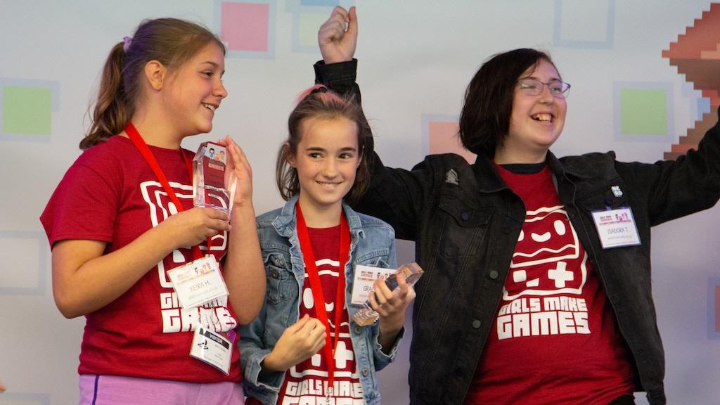 Girls Make Games Presents: Shredded Secrets project video thumbnail