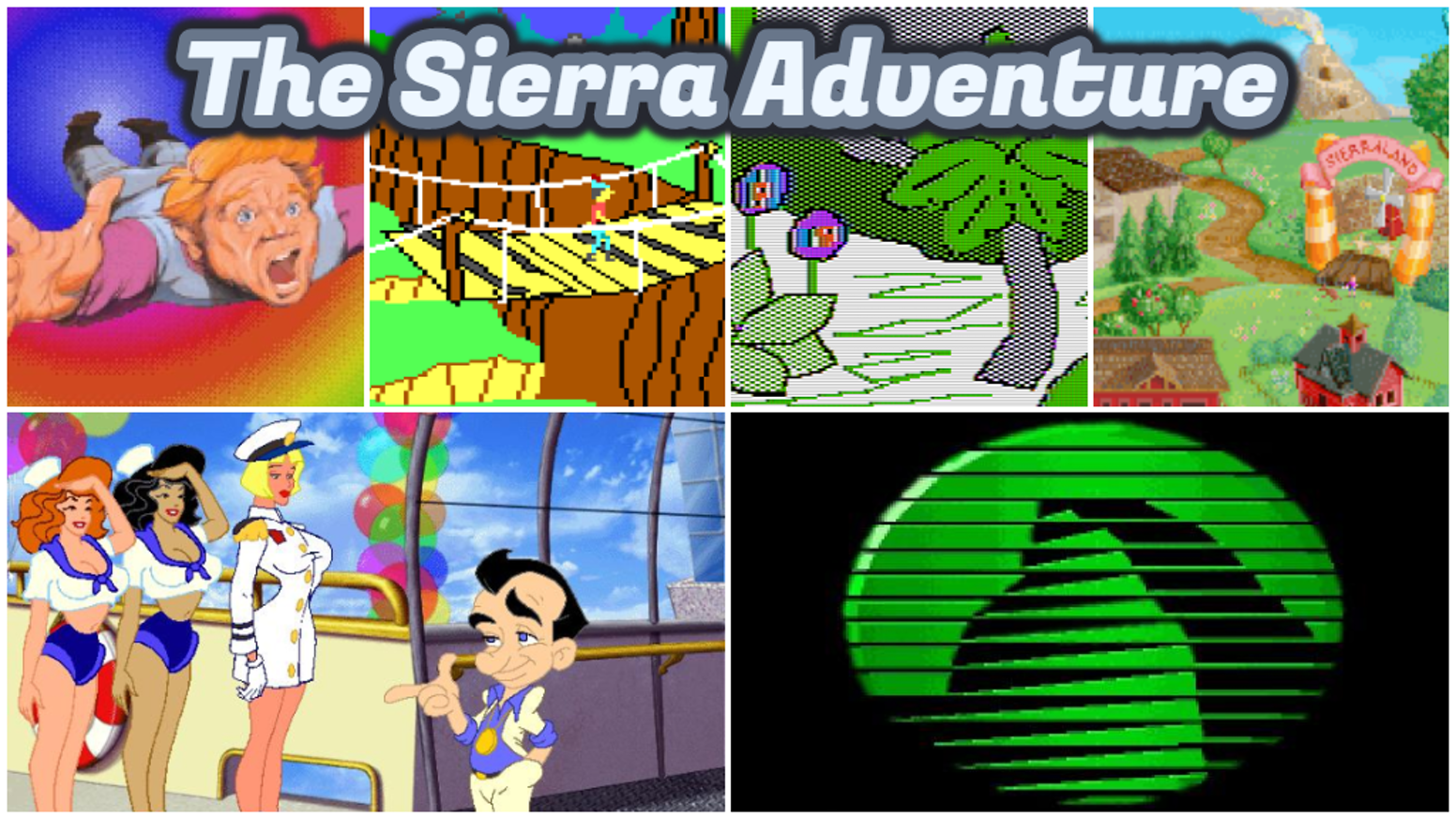 """The Sierra Adventure"" is a non-fiction book about the early giant of computer gaming, Sierra On-Line."