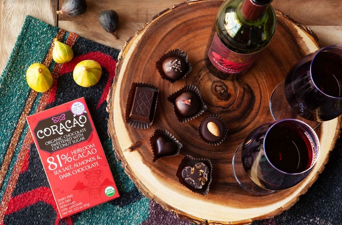 Coracao Chocolate   People Love Candy  We Make It Healthier