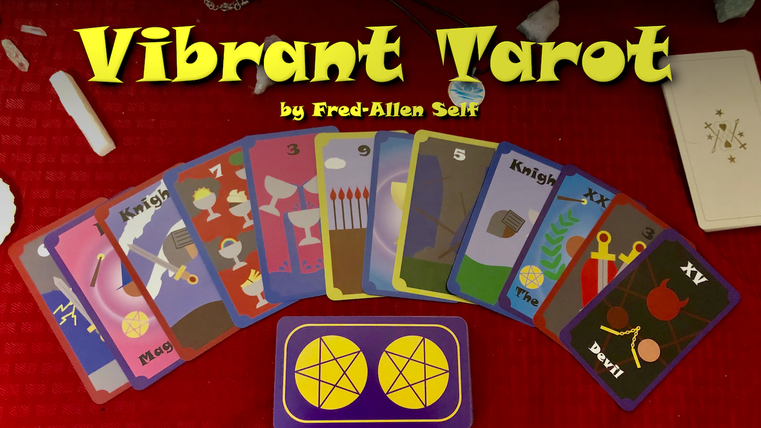 A Colorful Tarot Deck For All