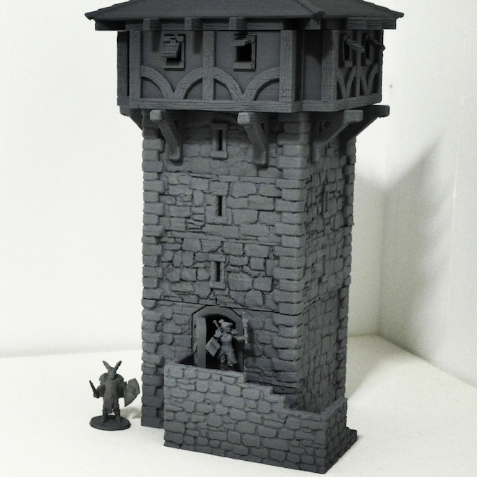 Watchtower v2 with hoarding