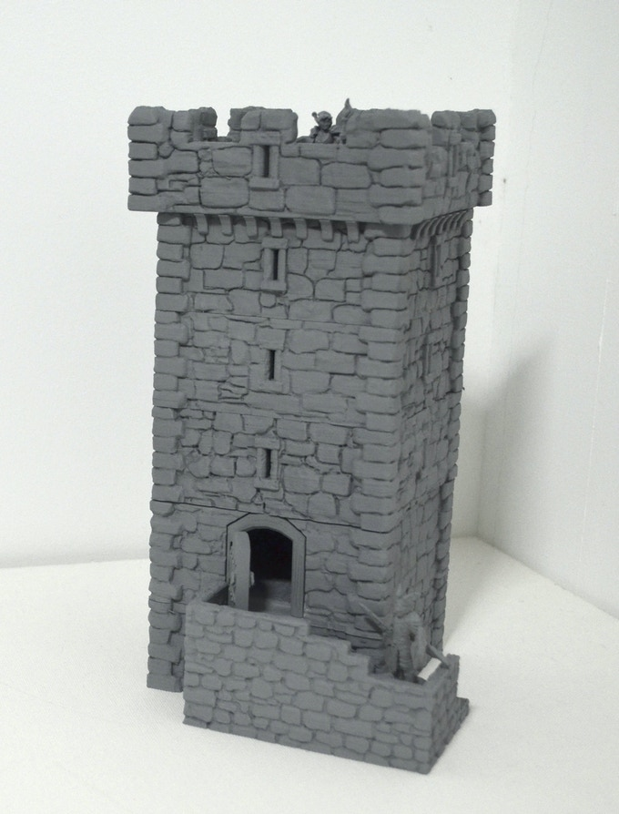 Watchtower v2 with crenellations
