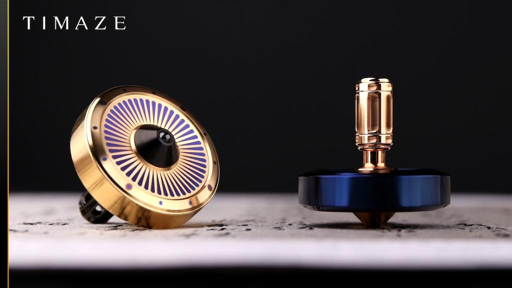 TTi-300 Titanium Spinning Top 2.0