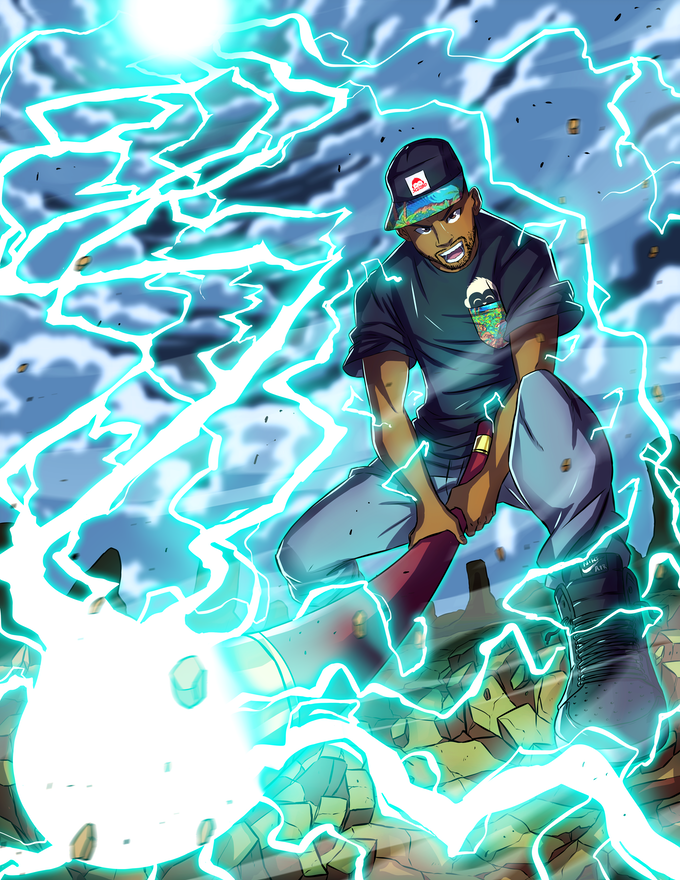 Meet Kam, master of lightning and the legendary tactician of SclObonia. Although he prefers solving issues with intellect, Kam glows when he's put on the frontlines!
