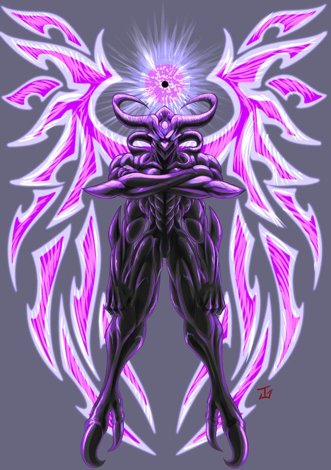 The legendary void dragon