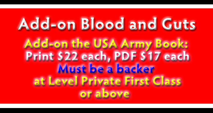 Add on - Blood and Guts Army Book