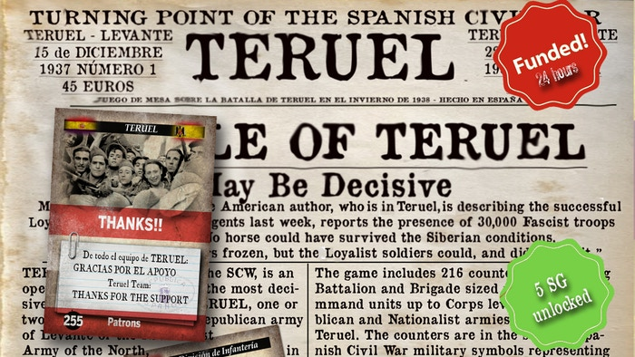 Winter of 1937; the future of the Spanish Civil War is decided in Teruel.