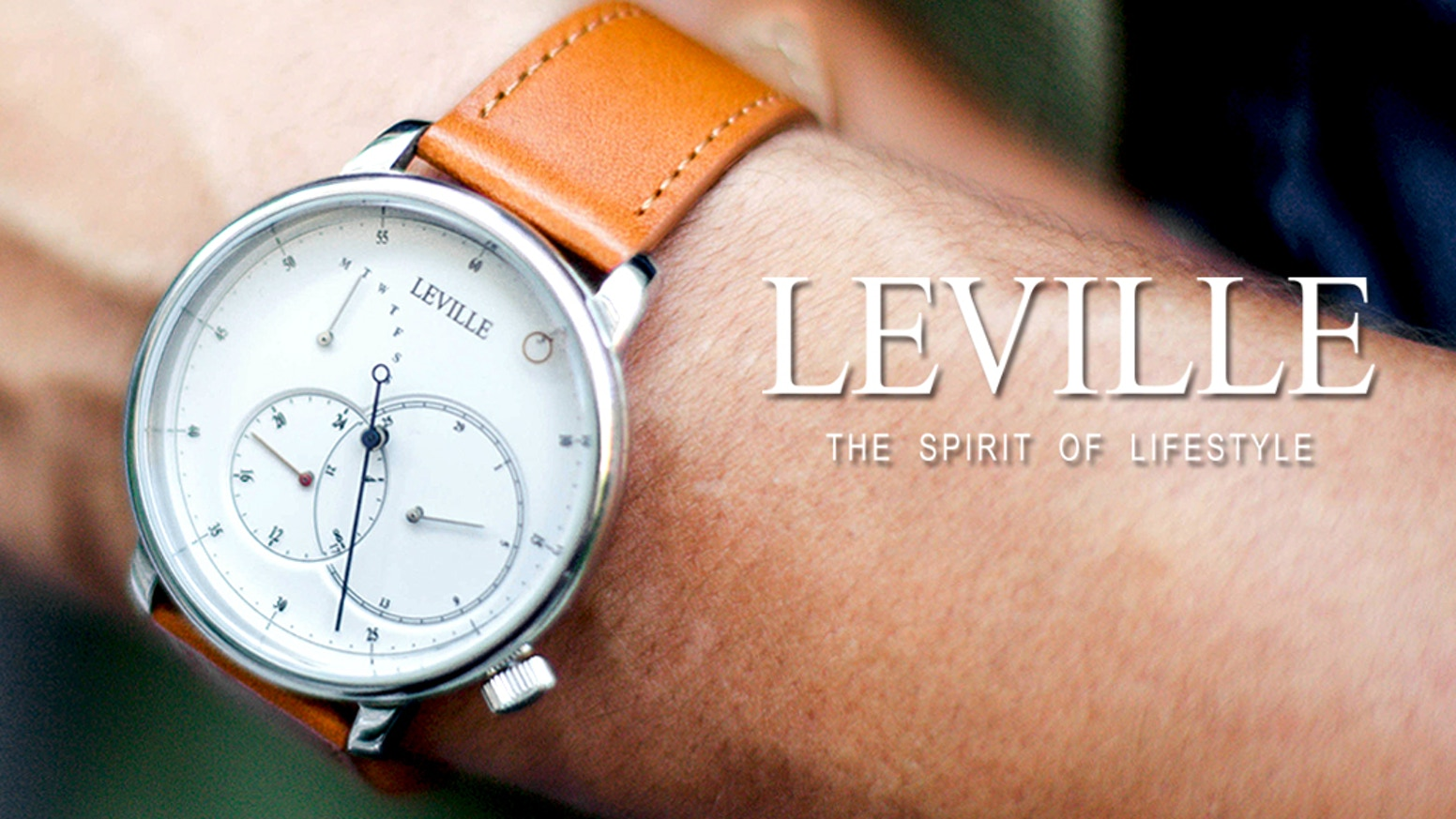d0fdf8360eb US 99 Modern Minimalist Design Regulator Watches by LEVILLE ...