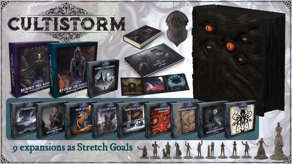 Cultistorm - More than an ordinary board game