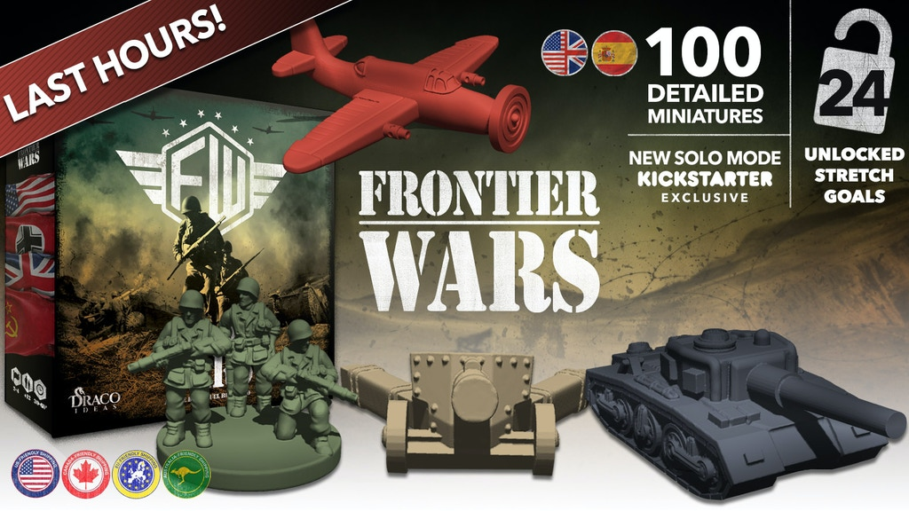Frontier Wars: the board game project video thumbnail