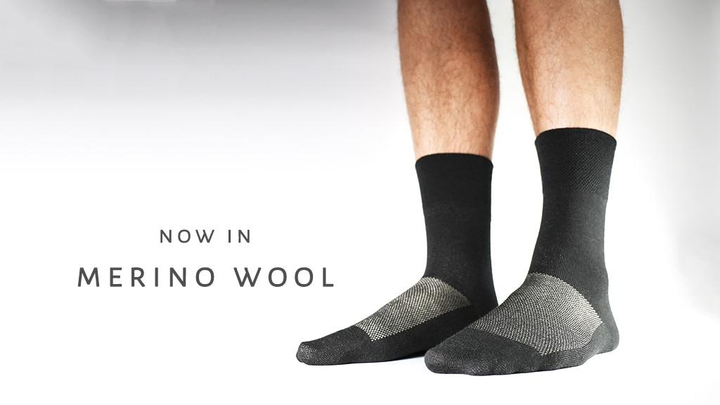 SilverSocks - World's Cleanest Silver Merino Wool Crew Socks project video thumbnail
