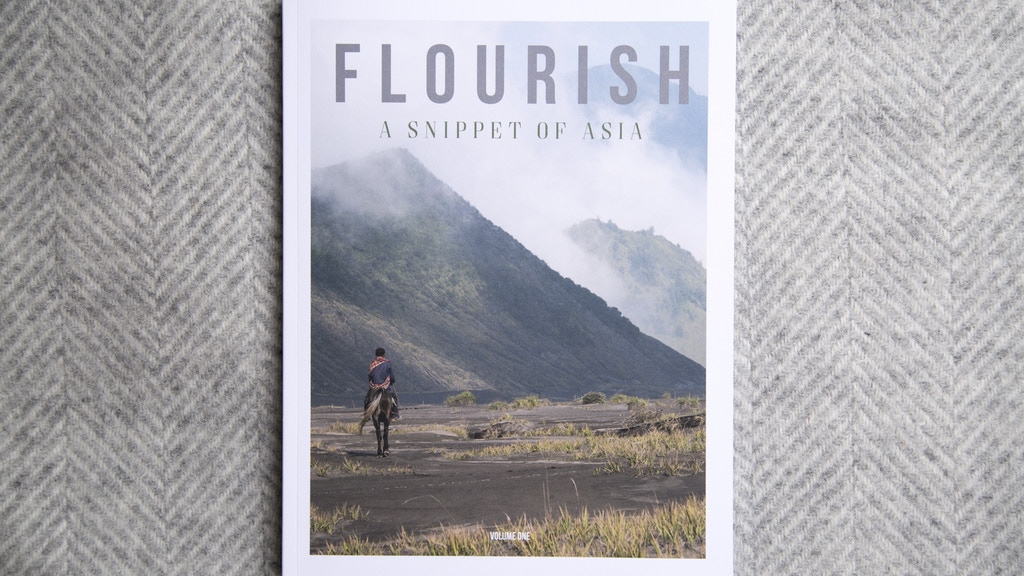 Flourish Vol. 2: A Travel & Lifestyle Magazine project video thumbnail