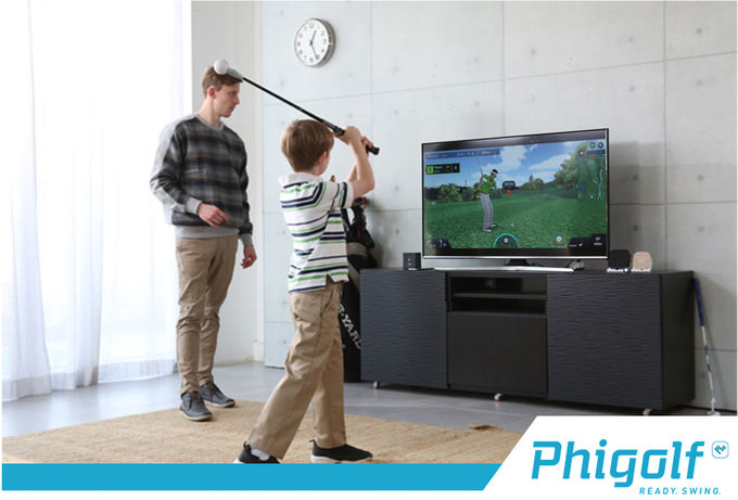 Phigolf is a mobile golf simulator that can be enjoyed by all ages and skill levels.