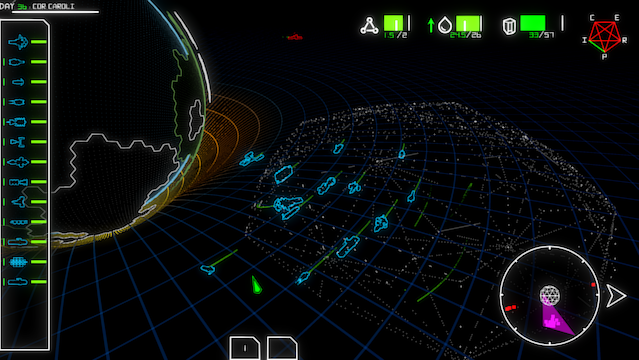 XO: a retro sci-fi strategy game for PC/Mac/Linux by