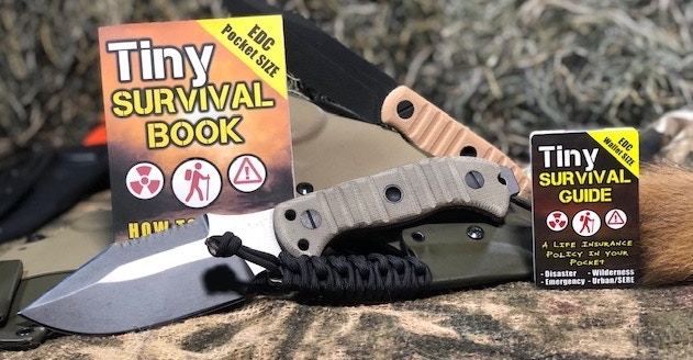 TIny Guide with MSK-1 SERE Combat Knife - Prototype