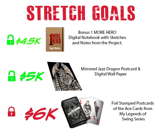 2 Stretch Goals Unlocked!